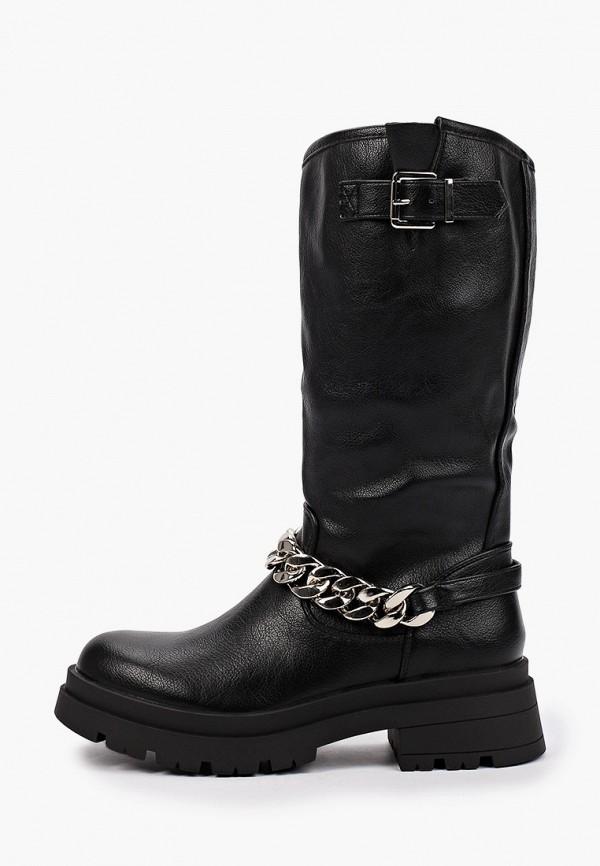 женские сапоги sweet shoes, черные