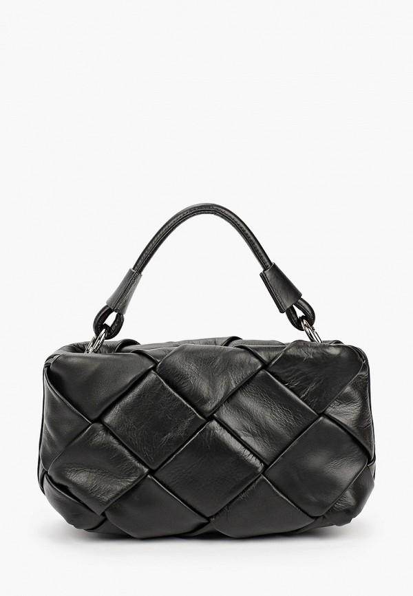 женская сумка с ручками lamania, черная