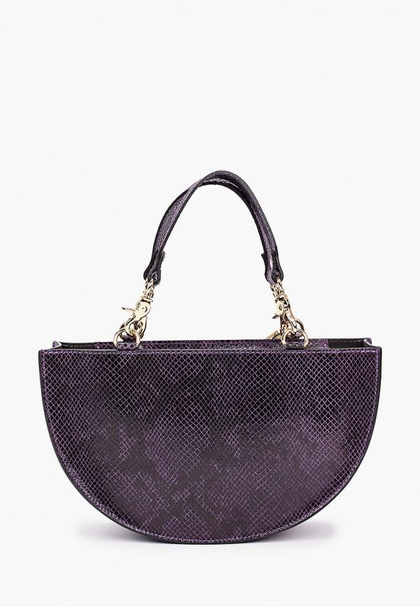 женская сумка с ручками lamania, фиолетовая