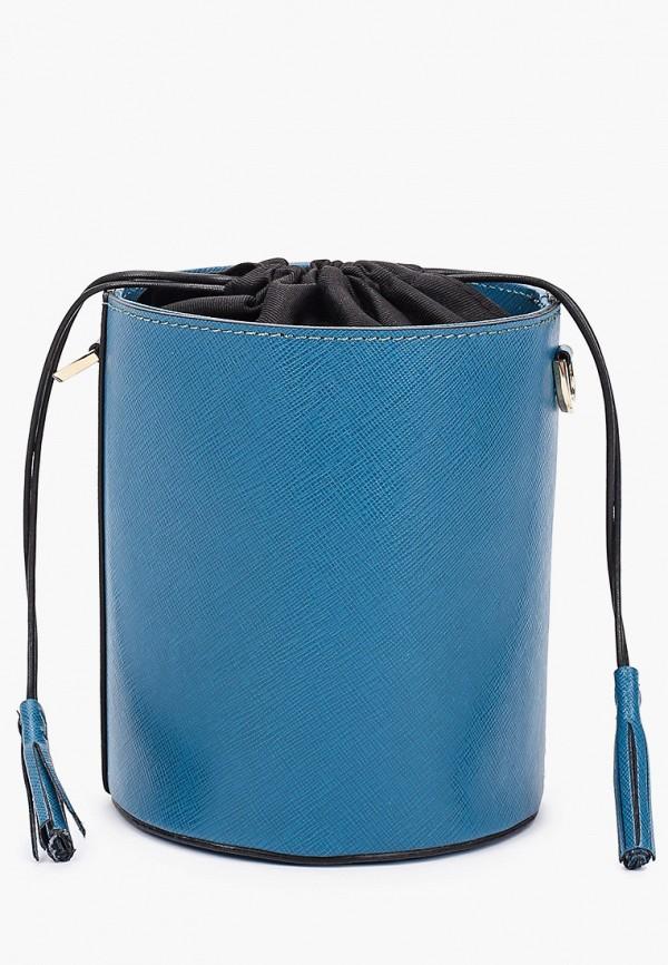 женская сумка с ручками lamania, синяя