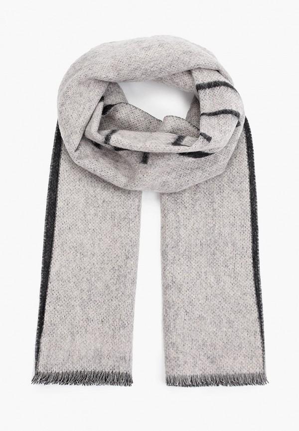 женский шарф calvin klein, серый