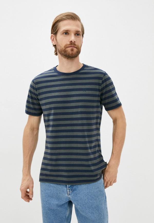 мужская футболка с коротким рукавом casual friday by blend, разноцветная
