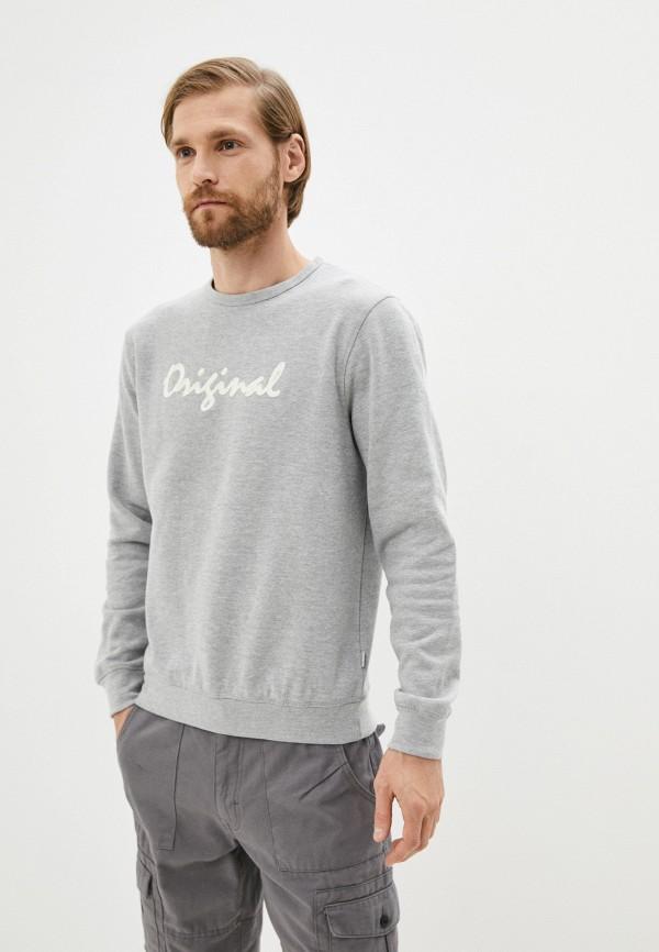 мужской свитшот blend, серый