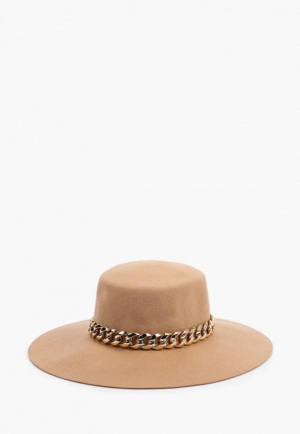 женская шляпа river island, бежевая