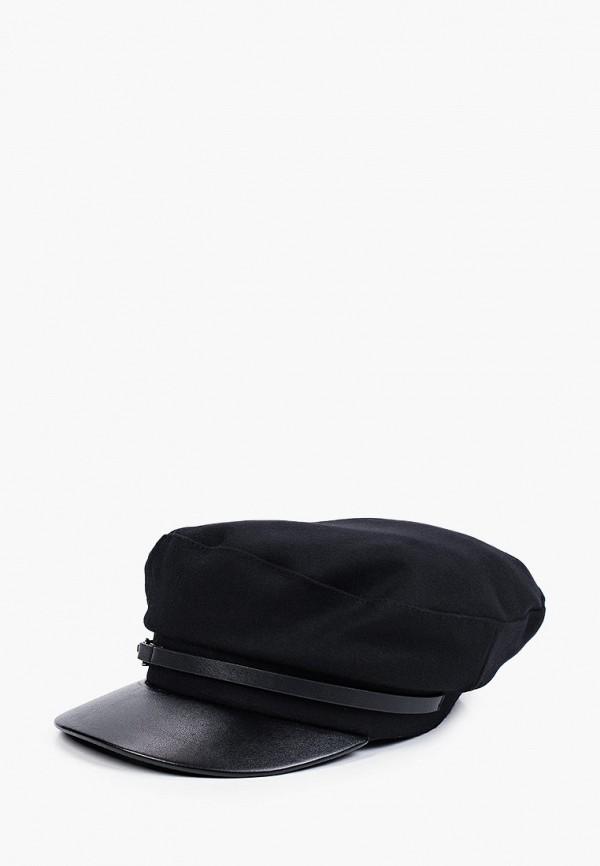 женская кепка river island, черная