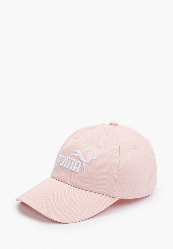 бейсболка puma для девочки, розовая
