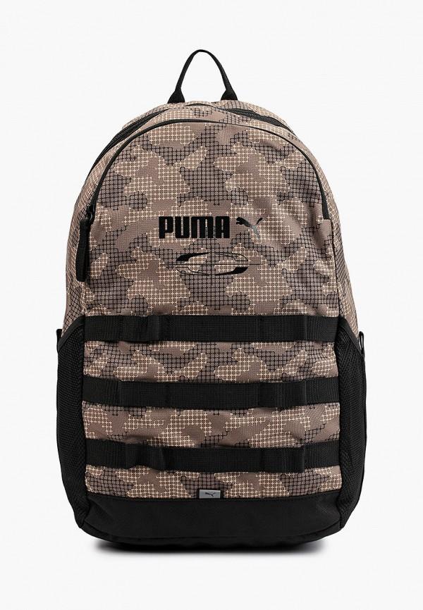женский рюкзак puma, коричневый