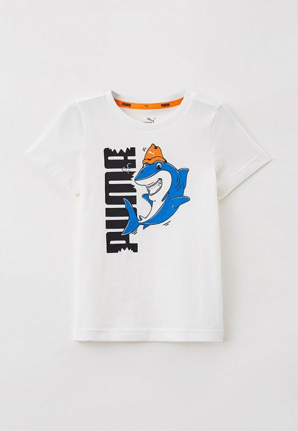 Футболка PUMA белого цвета