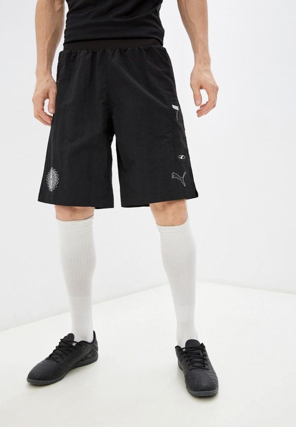 Шорты спортивные PUMA черного цвета