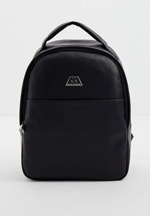мужской рюкзак armani exchange, черный