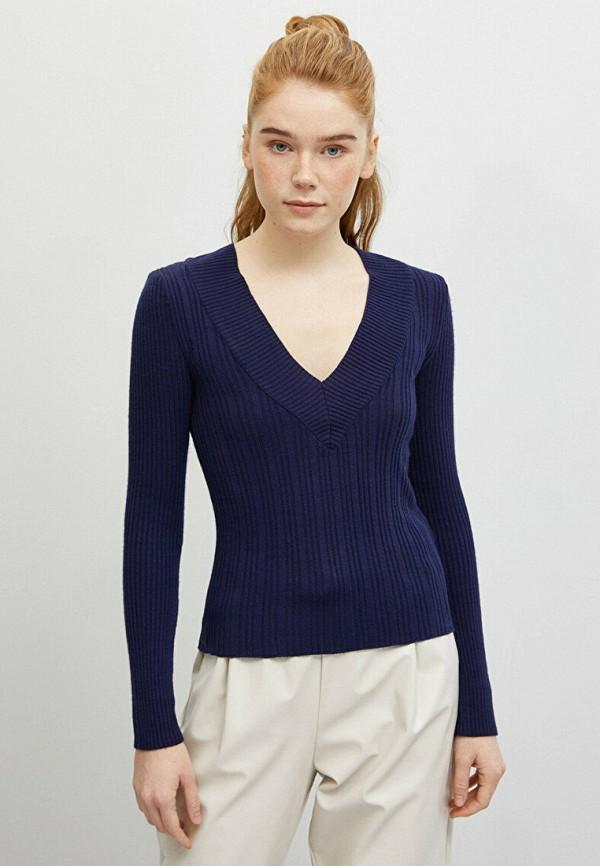 женский пуловер koton, синий