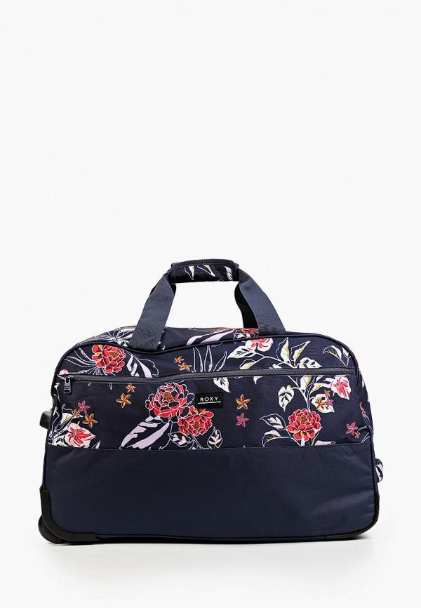 женская дорожные сумка roxy, синяя