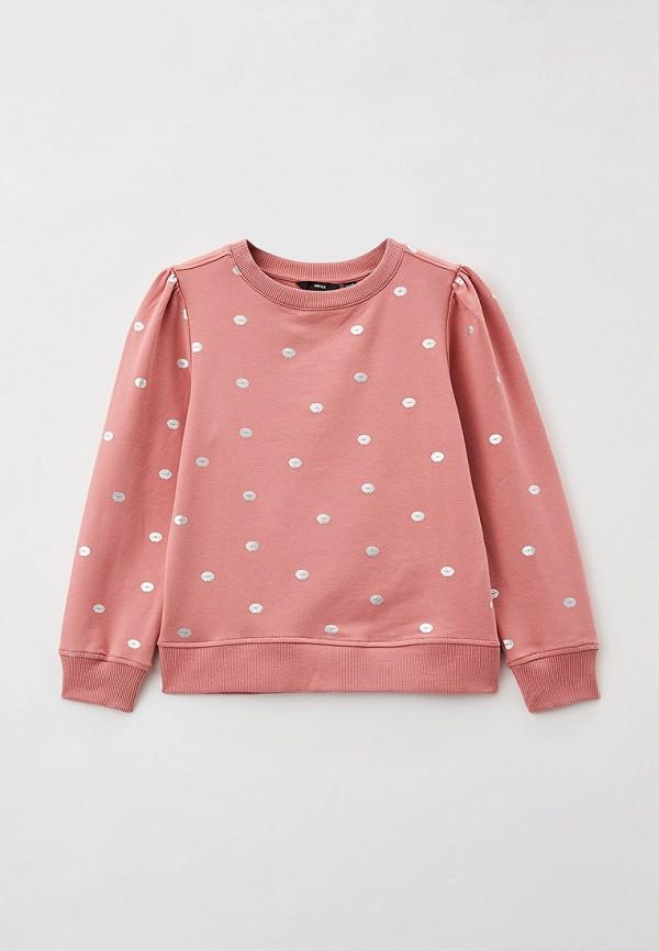 свитшот mexx для девочки, розовый