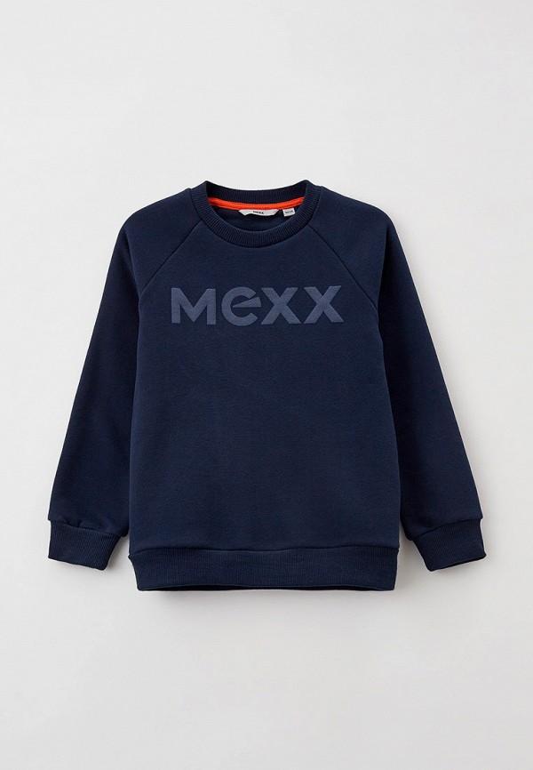 свитшот mexx для мальчика, синий
