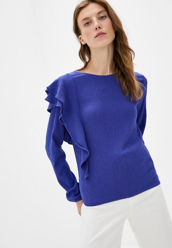 женская блузка mexx, синяя