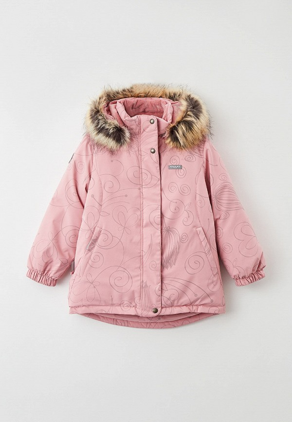 куртка kerry для девочки, розовая