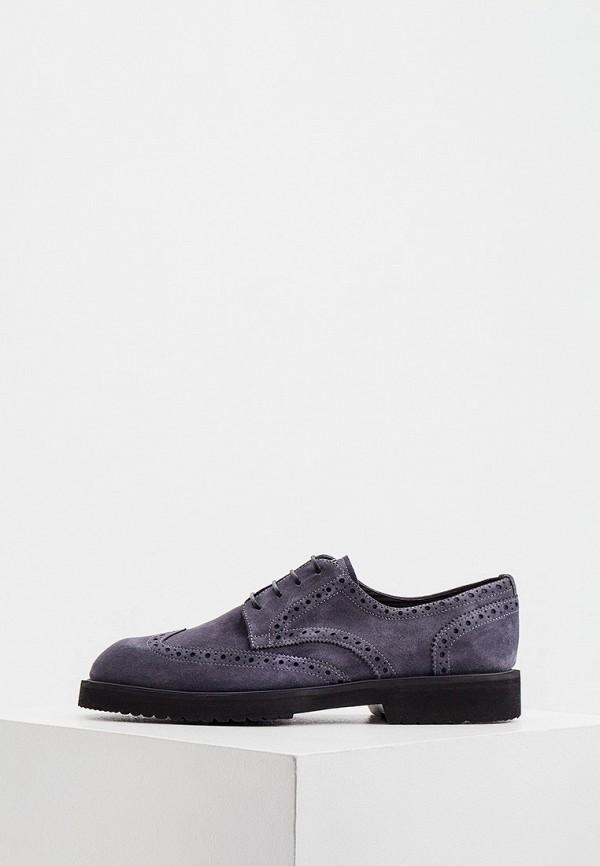 мужские туфли-дерби pakerson, серые