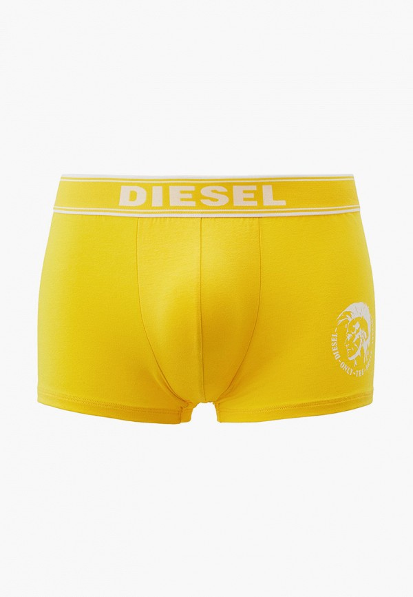 мужские трусы-боксеры diesel, желтые