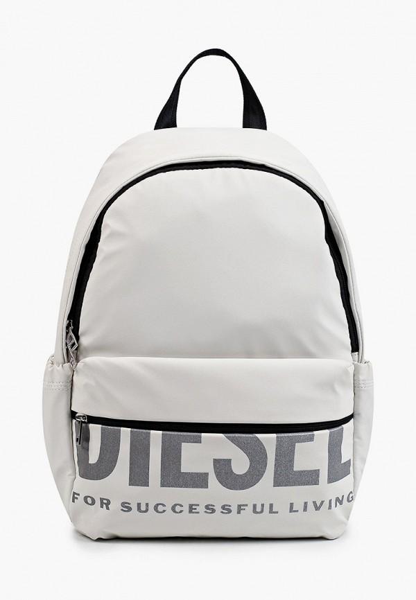 женский рюкзак diesel, белый