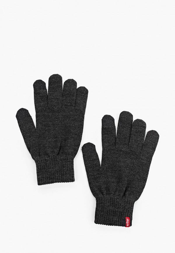 мужские текстильные перчатки levi's®, серые