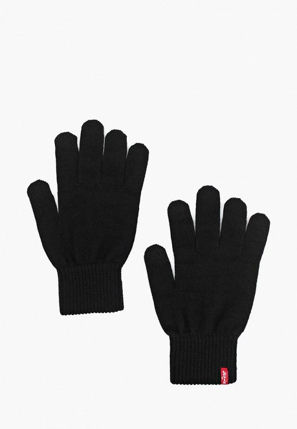 мужские текстильные перчатки levi's®, черные