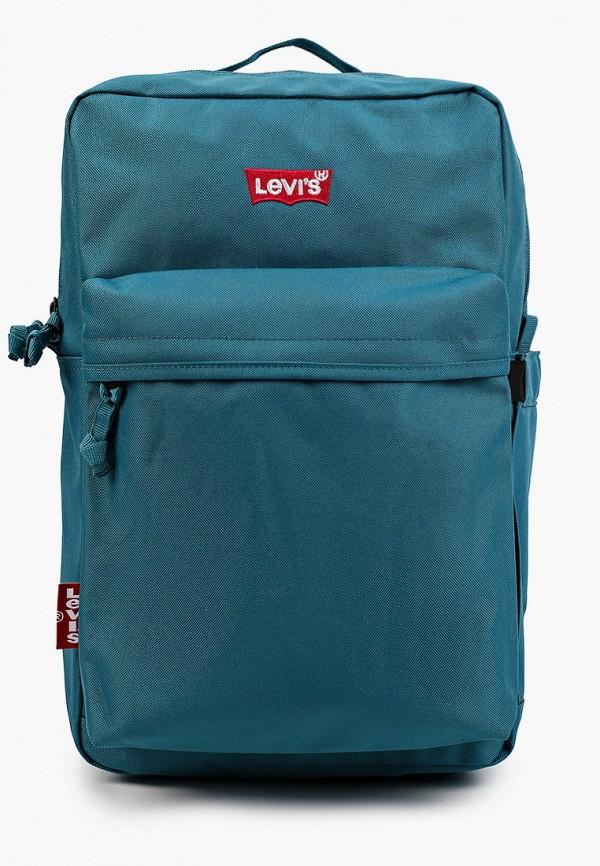 мужской рюкзак levi's®, бирюзовый