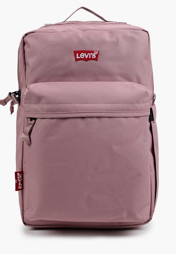 мужской рюкзак levi's®, розовый