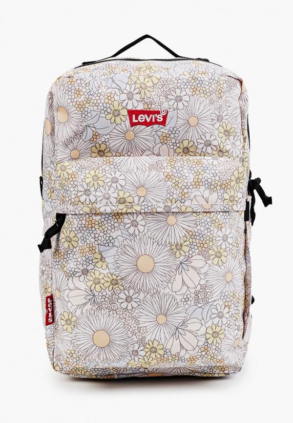 женский рюкзак levi's®, бежевый