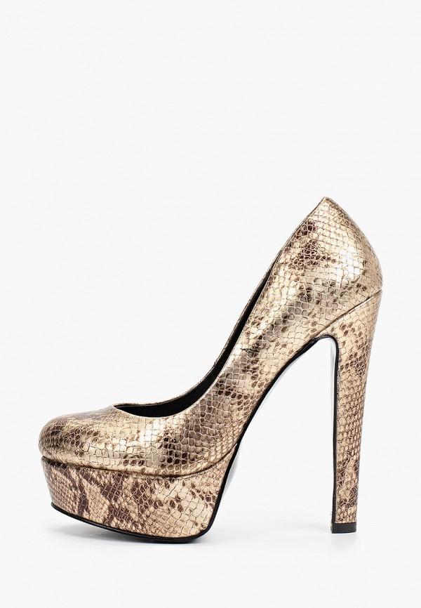женские туфли с закрытым носом diora.rim, золотые