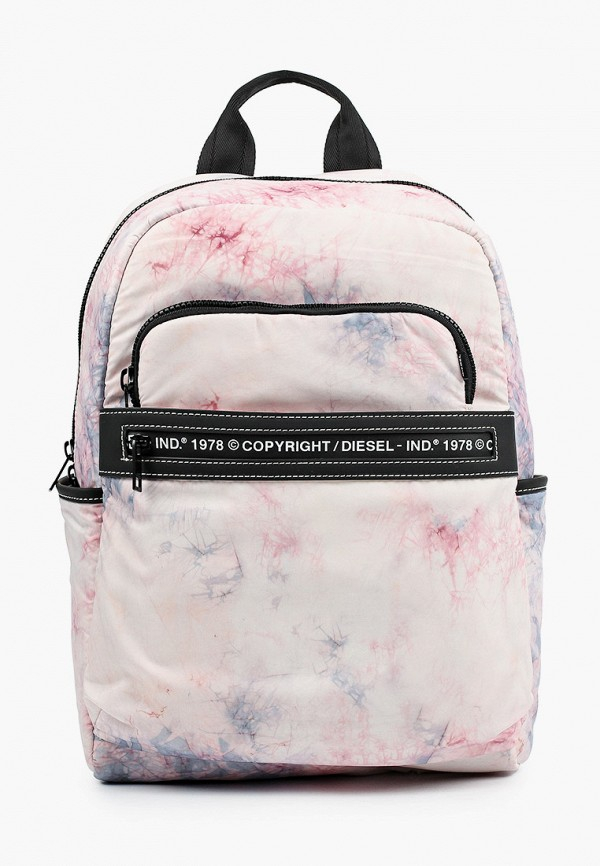 женский рюкзак diesel, розовый