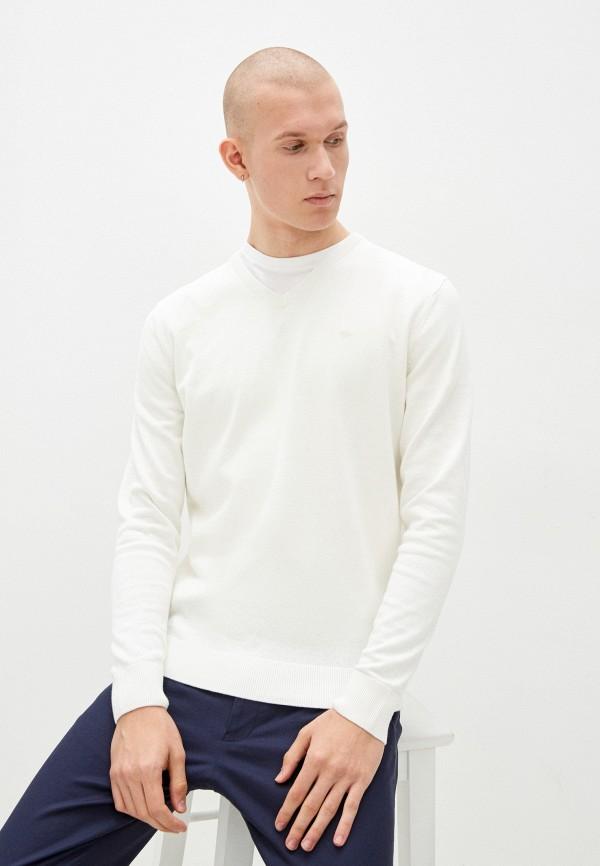 мужской пуловер tom tailor, белый