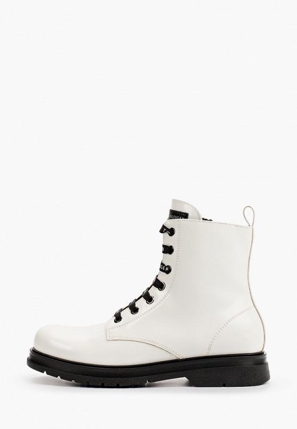 Ботинки Tommy Hilfiger белого цвета