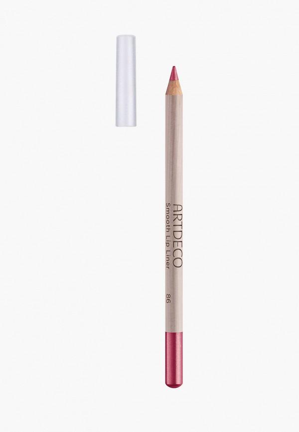 женский карандаш для губ artdeco, красный