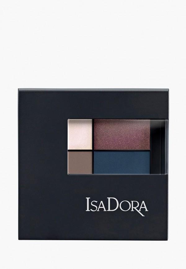 женский тени для век isadora, разноцветный