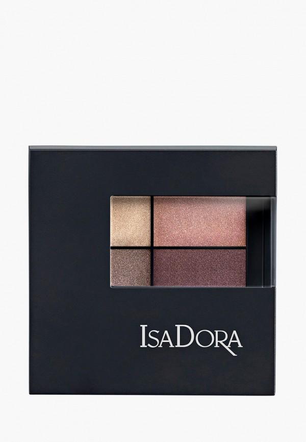 женский тени для век isadora, коричневый