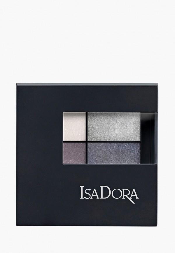 женский тени для век isadora, серый
