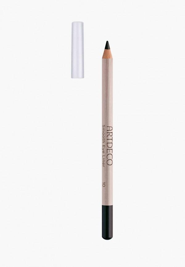 женский карандаш для глаз artdeco, черный