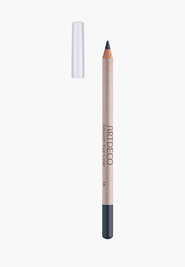 женский карандаш для глаз artdeco, синий