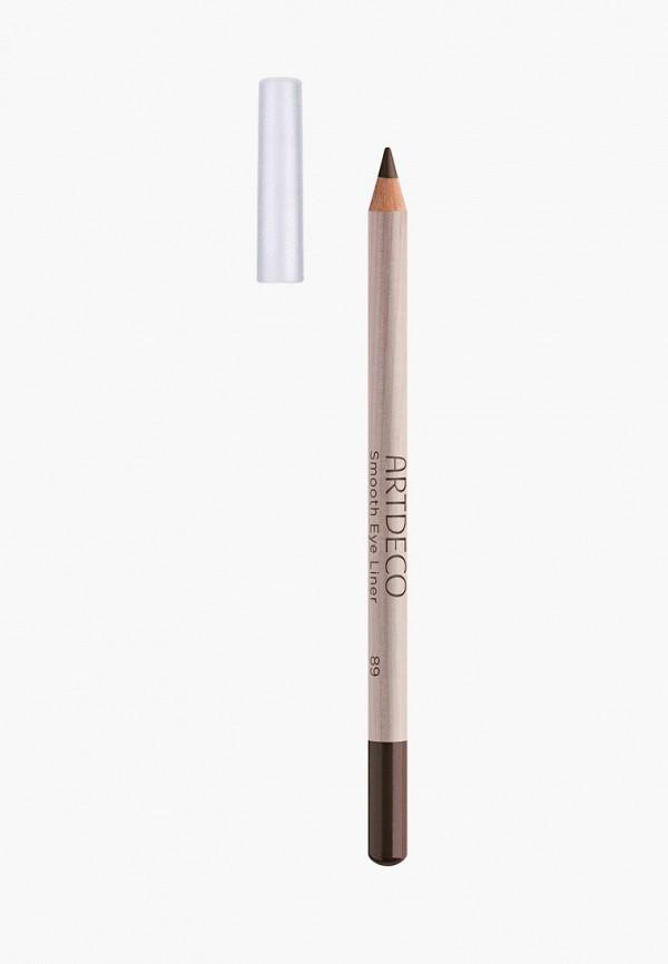 женский карандаш для глаз artdeco, коричневый