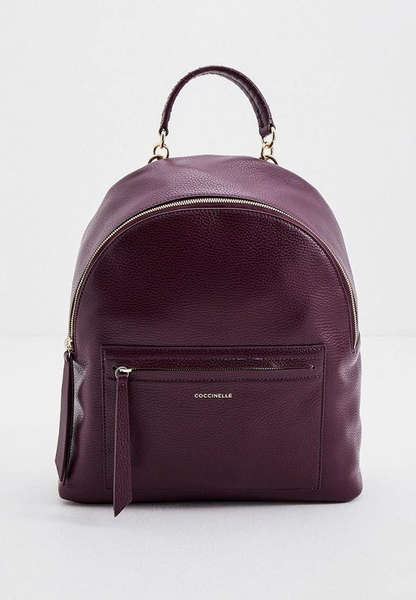 женский рюкзак coccinelle, фиолетовый