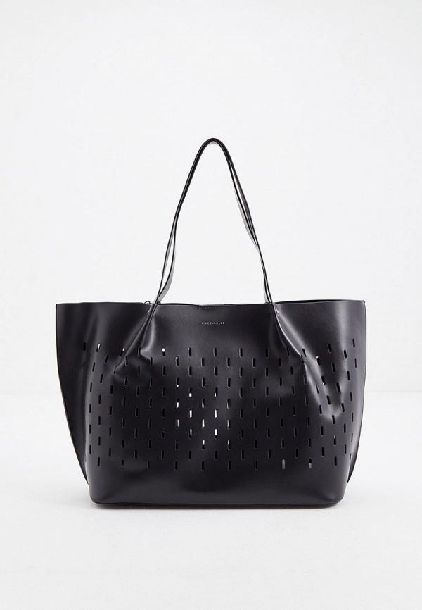 женский кошелёк-шоперы coccinelle, черный