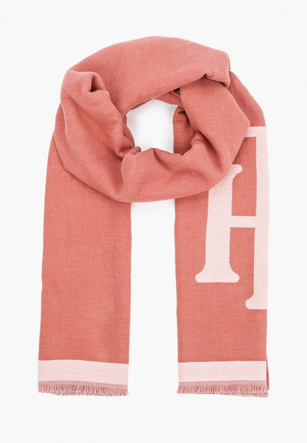 Шарф Tommy Hilfiger розового цвета