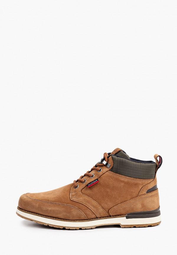Ботинки Tommy Hilfiger коричневого цвета