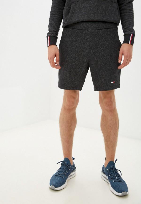 Шорты спортивные Tommy Hilfiger серого цвета