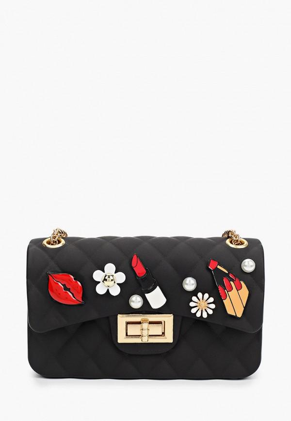 сумка monnalisa для девочки, черная