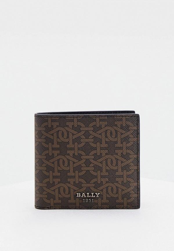мужской кошелёк bally, коричневый