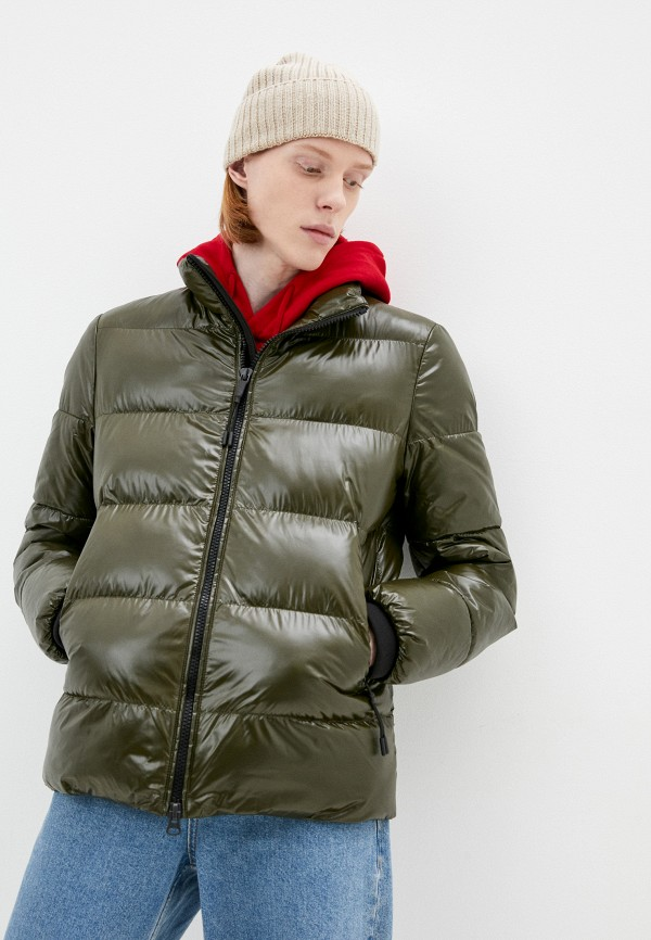 мужская утепленные куртка geox, хаки