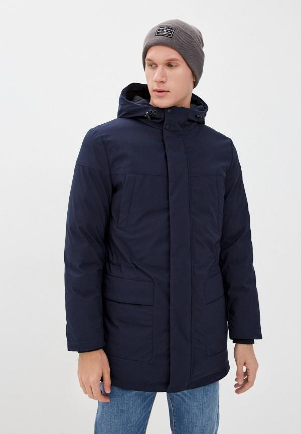 мужская утепленные куртка geox, синяя