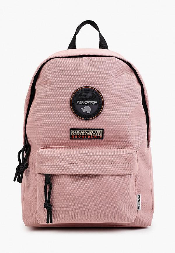 женский рюкзак napapijri, розовый