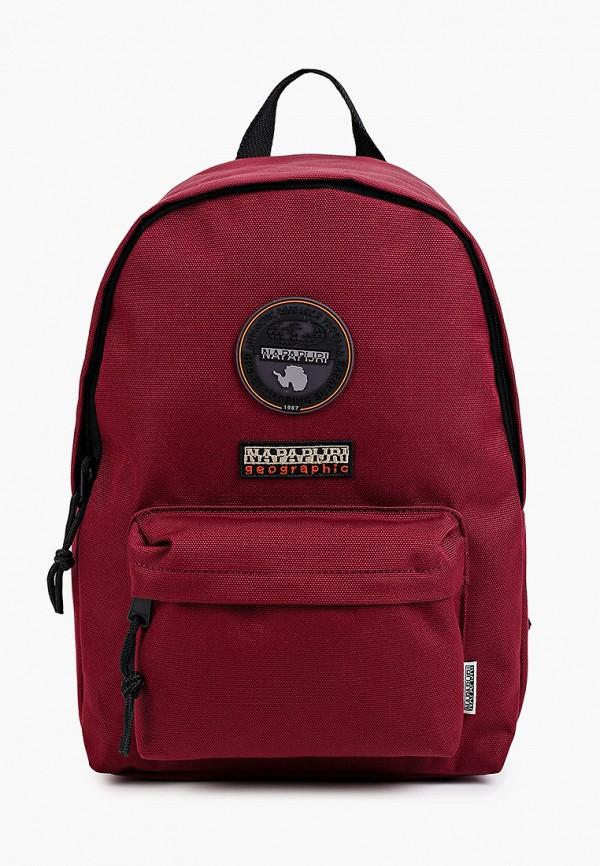 женский рюкзак napapijri, бордовый